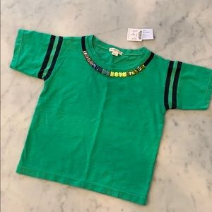 J crew Crewcuts 4 5 jeweled baseball shirt NWT